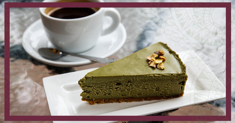 Cheesecake Pistacchio e Ricotta con crema La Gustosa